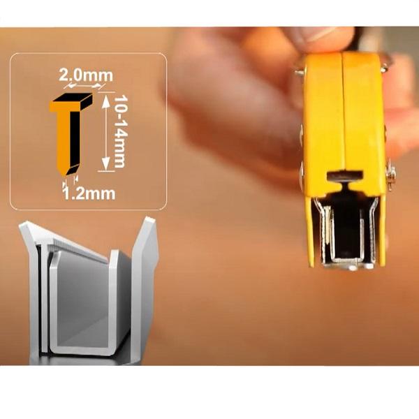 Capsator tapiterie, 3 in 1, reglabil, + 600 capse 4
