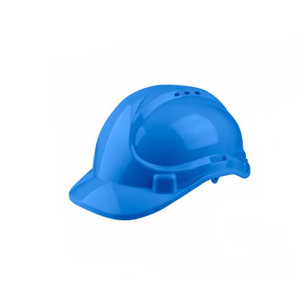 Casca protectie albastru, Good Safe, sistem de aerisire, suspensie in 8 puncte 0