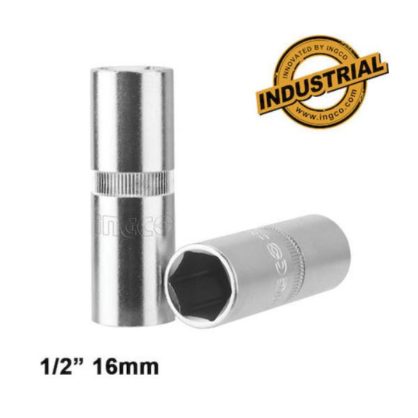 Cheie bujie 12 16mm Cr-V - INGCO HSPS12161 0