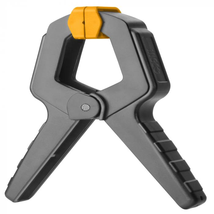 Clema cu arc pentru fixare, mini menghina - INGCO HQSC0204 [0]