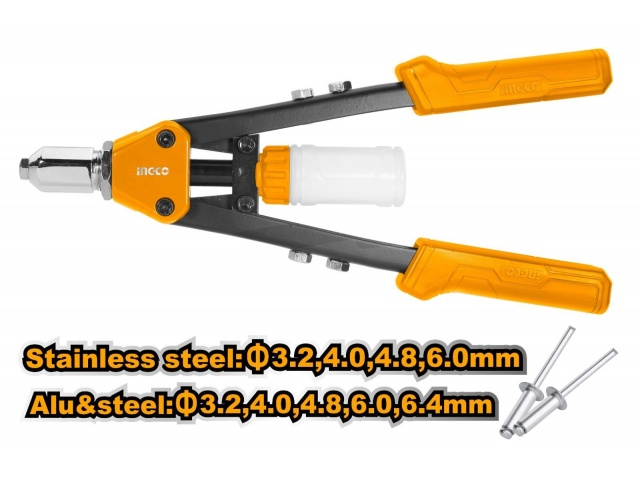 Cleste pentru pop-nituri, 3.2 - 6.4 mm, 13'' - INGCO HR131 [0]