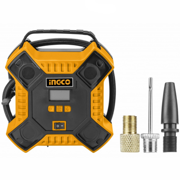 Compresor AUTO 12V 35 lmin + accesorii PROFI - INGCO AAC1601 0