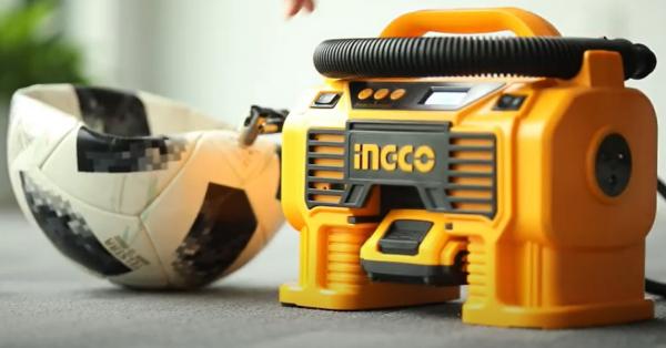 Compresor auto 4 in 1, 11 Bar, LED, lanterna si aspirator - INGCO CACLI2002 6