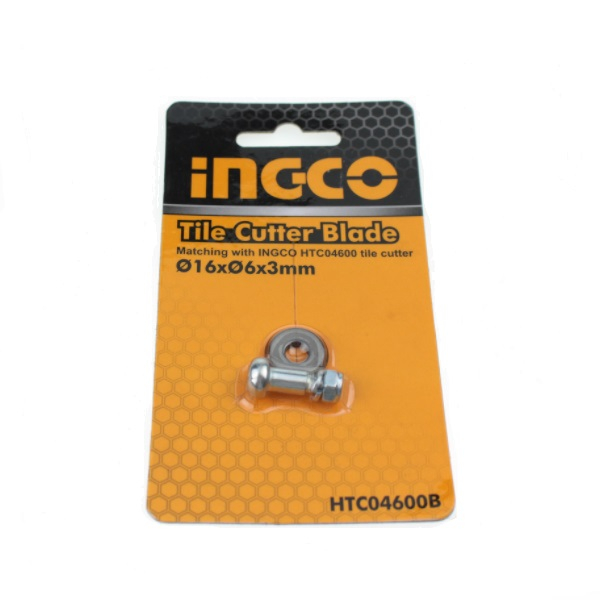 Cutit rola pentru aparat de taiat gresie si faianta, 16x6x3 mm - INGCO HTC04600B 0