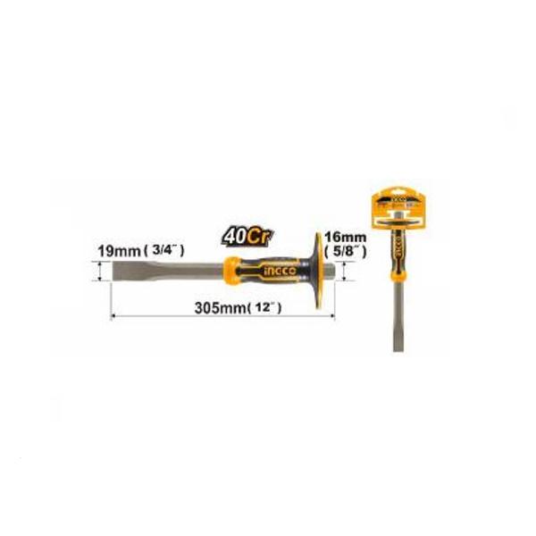 Dalta plata, dreapta maner ergonomic protectie, 305mm, PROFI - INGCO HCCL851916 1