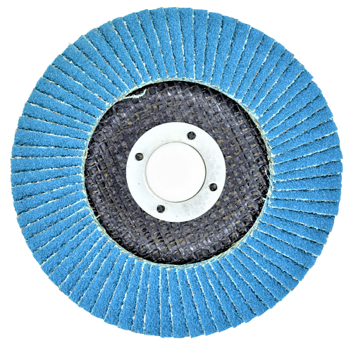 Disc abraziv lamelar cu zirconiu, 125mm - INGCO FDZ1251 [3]