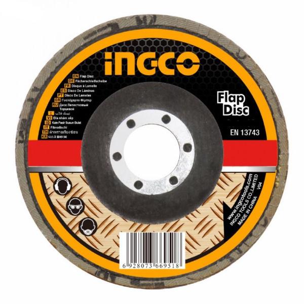 Disc abraziv lamelar pentru metal 115mm P40, P60, P80 2