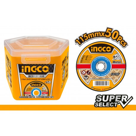Disc abraziv, panza debitare metal 115mm - INGCO MCD1211550 [1]