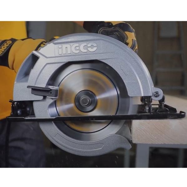 Fierestrau circular de mana, 185mm, 1600W - INGCO CS18568 1