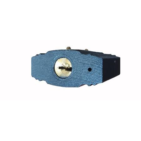 Lacat 63mm cu protectie la ploaie + 3 chei, 500g - INGCO DIPL0601 [2]