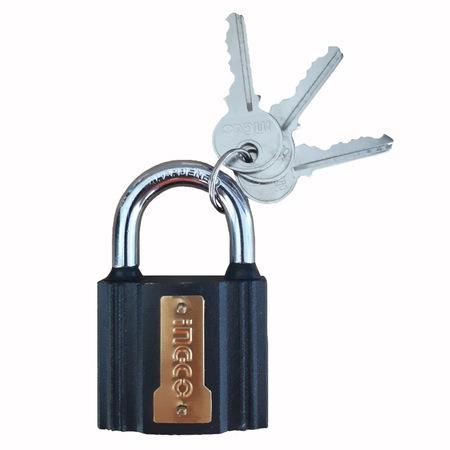Lacat 63mm cu protectie la ploaie + 3 chei, 500g - INGCO DIPL0601 [1]