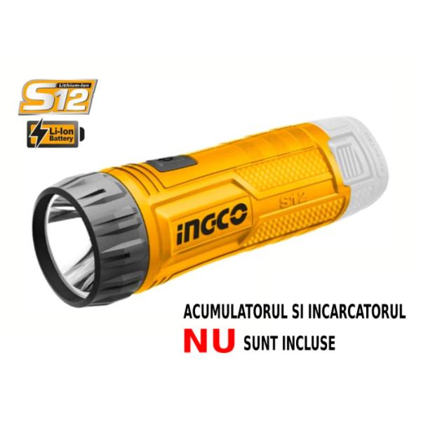 Lanterna pe acumulator 12v - INGCO CWLI1201 [1]