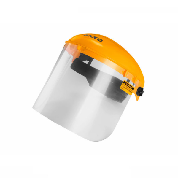 Masca de protectie ajustabila pentru frunte, cu viziera transparenta - INGCO HFSPC01 [0]