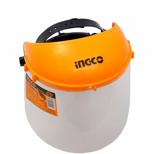 Masca de protectie ajustabila pentru frunte, cu viziera transparenta - INGCO HFSPC01 [3]