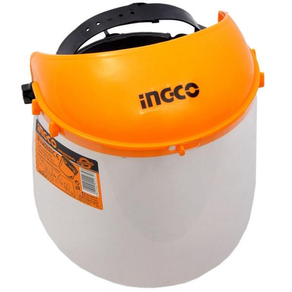 Masca de protectie ajustabila pentru frunte, cu viziera transparenta - INGCO HFSPC01 [4]