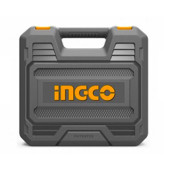 Masina de gaurit si insurubat cu percutie + 2 acumulatori 20v - INGCO CIDLI200215 2