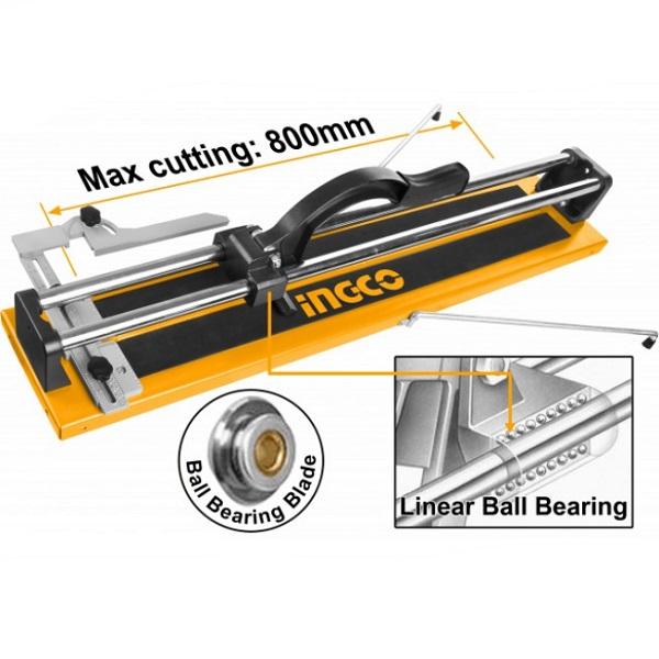 Masina de taiat gresie si faianta 800mm, cutit cu rulment - INGCO HTC04800AG 0