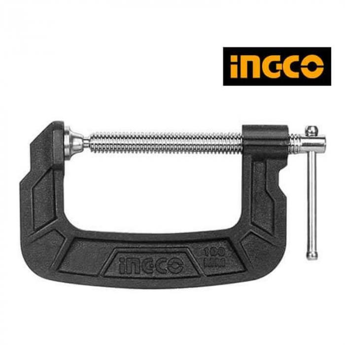 Menghina, presa, clema Lemn Tip G, 5125mm - INGCO HGC0105 [1]