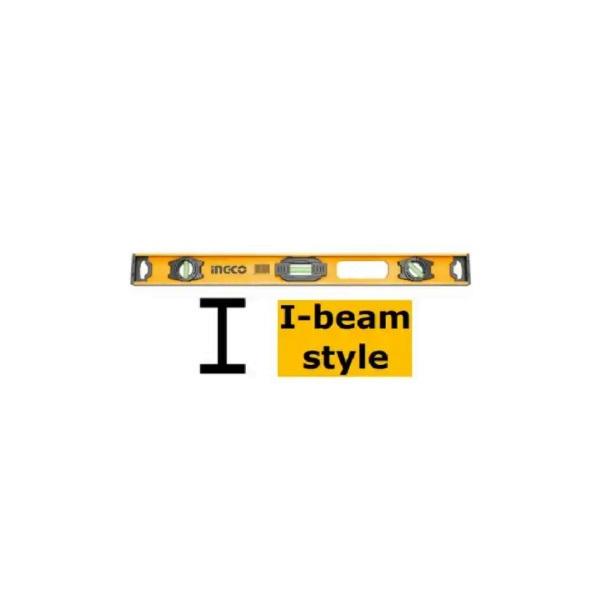 Nivela, boloboc cu magnet 80 cm, Profil HEA (H) - INGCO HSL28080 [0]