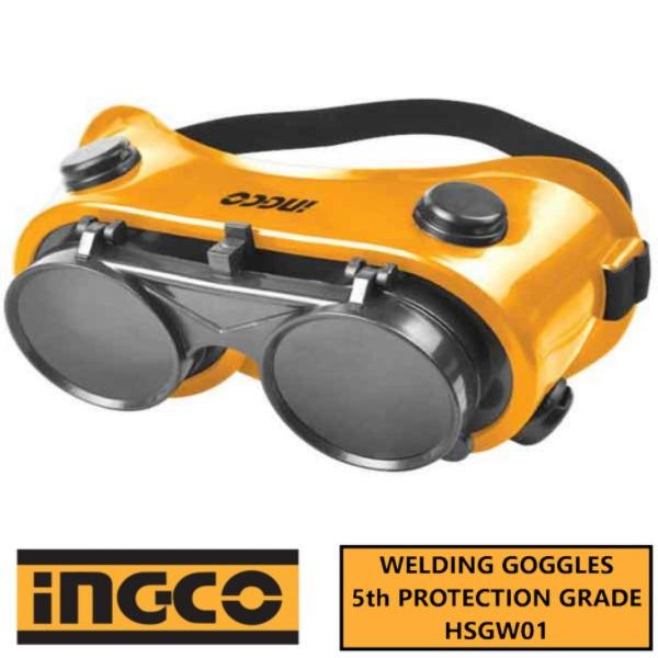Ochelari de Protectie, Pentru Sudura, cu Lentile Rabatabile - INGCO HSGW01 1