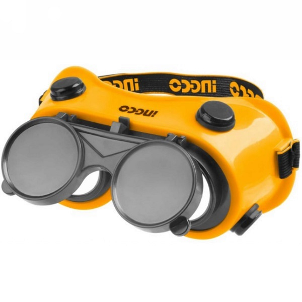 Ochelari de Protectie, Pentru Sudura, cu Lentile Rabatabile - INGCO HSGW01 2