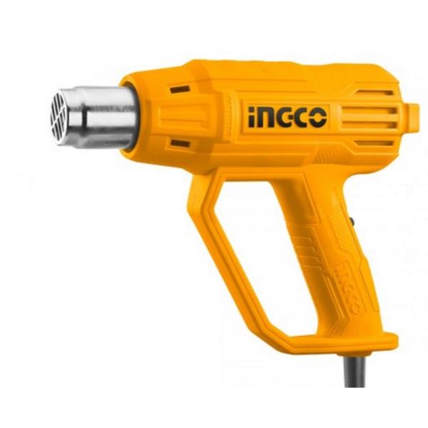 Pistol cu aer cald 2000w, 480 ° C  560 ° C - INGCO HG200038 0