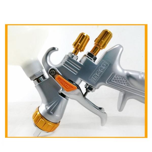 Pistol de vopsit cu rezervor superior, LVMP, Profesional - INGCO ASG1065 5