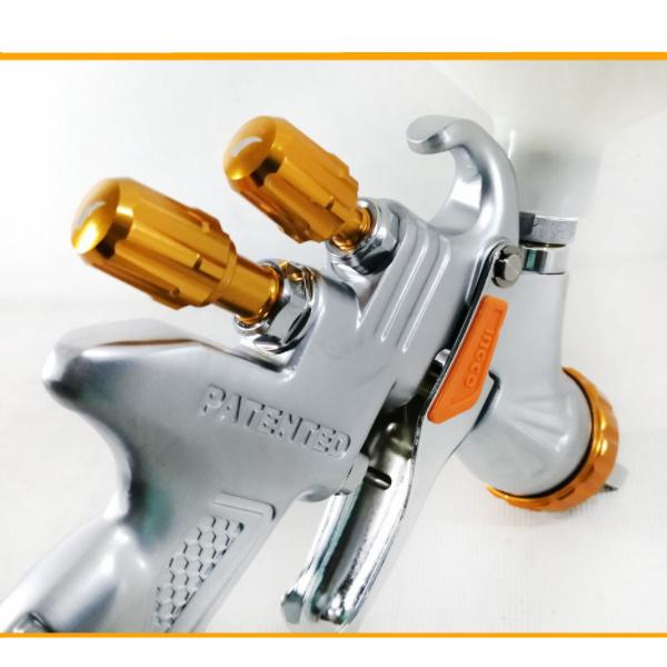Pistol de vopsit cu rezervor superior, LVMP, Profesional - INGCO ASG1065 4