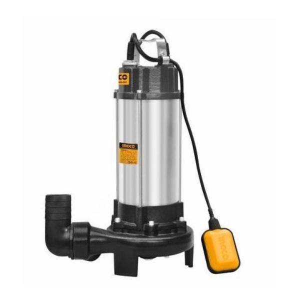 Pompa apa murdara cu tocator si flotor 1500W - INGCO SPDB15001 [0]