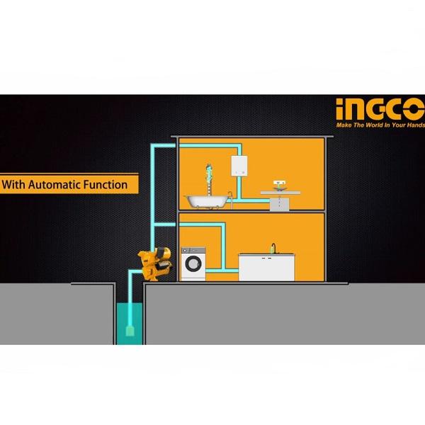 Pompa apa suprafata de adancime (hidrofor), 750w, 55 l/min 1