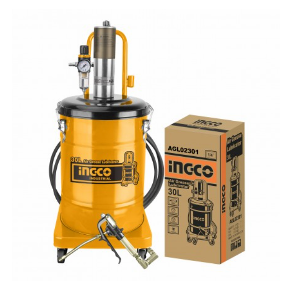 Pompa pneumatica pentru gresat, 30L - INGCO AGL02301 0