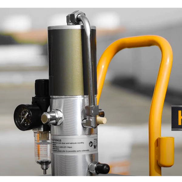 Pompa pneumatica pentru gresat, 30L - INGCO AGL02301 2