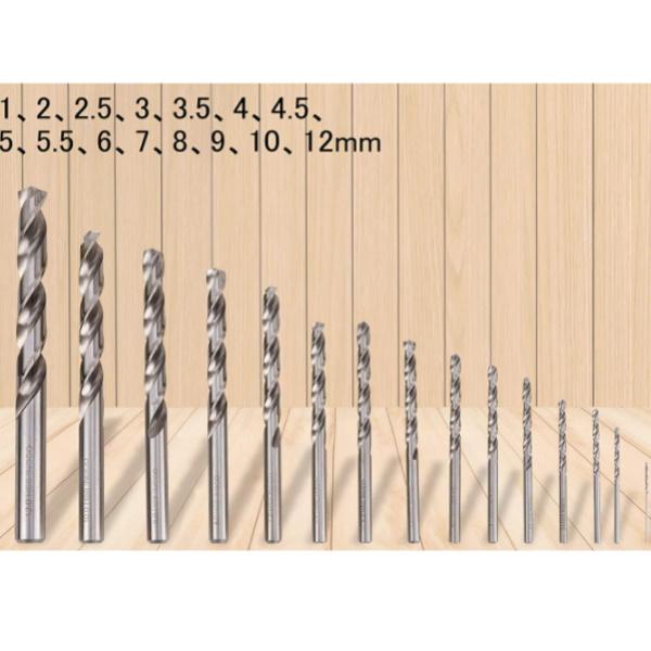 Set 15 piese de burghie PROFI pentru metal, DIN338, HSS-CO - INGCO AKDL51502 3