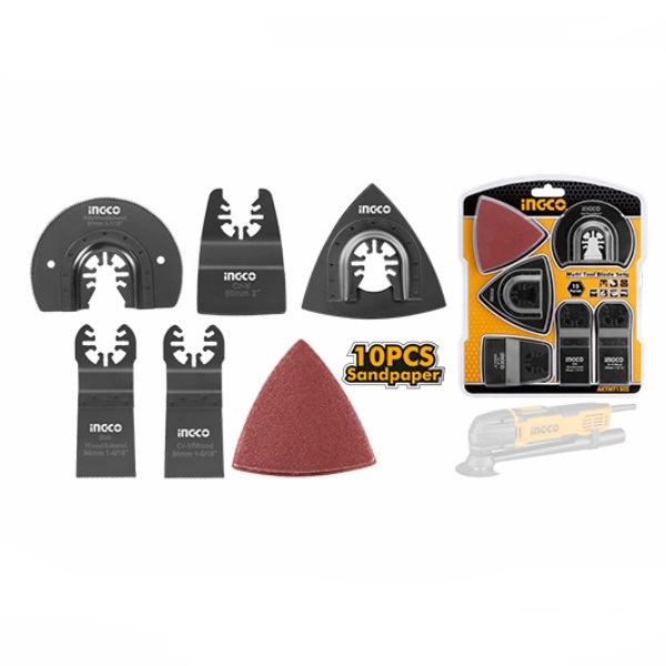 Set de 15 accesorii pentru scula multifunctionala - INGCO AKTMT1502 [1]