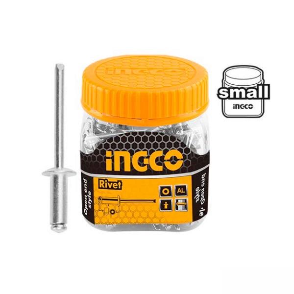 Set pop nituri 4.8 x 16 mm, 100 buc - INGCO HWRT4801611 0