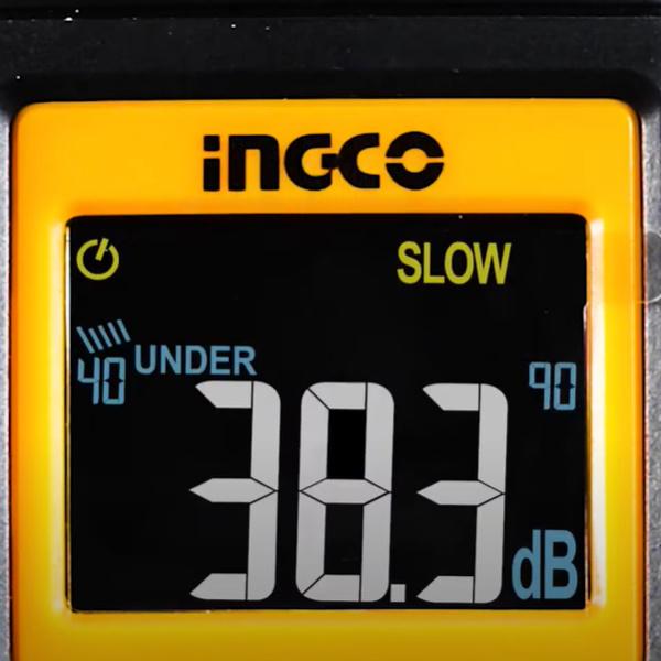 Sonometru (fonometru) digital profesional acustic pentru masurarea nivelului de sunet - INGCO HETSL01 [2]