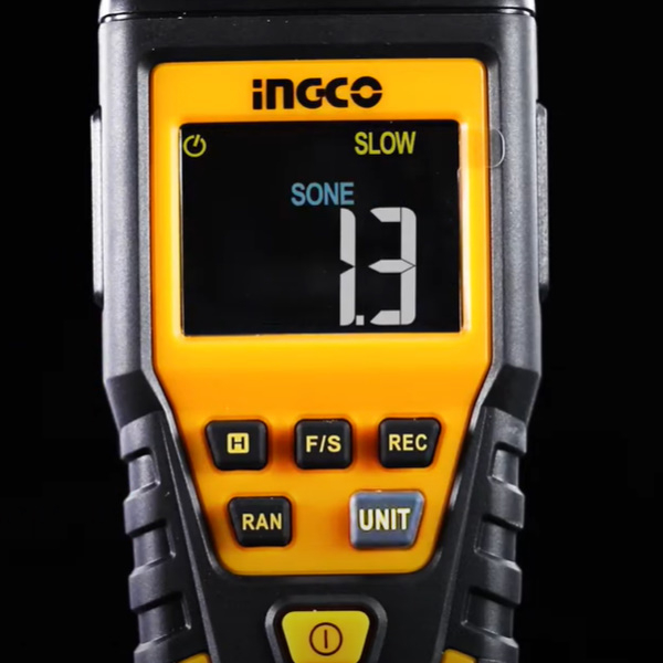 Sonometru (fonometru) digital profesional acustic pentru masurarea nivelului de sunet - INGCO HETSL01 [1]