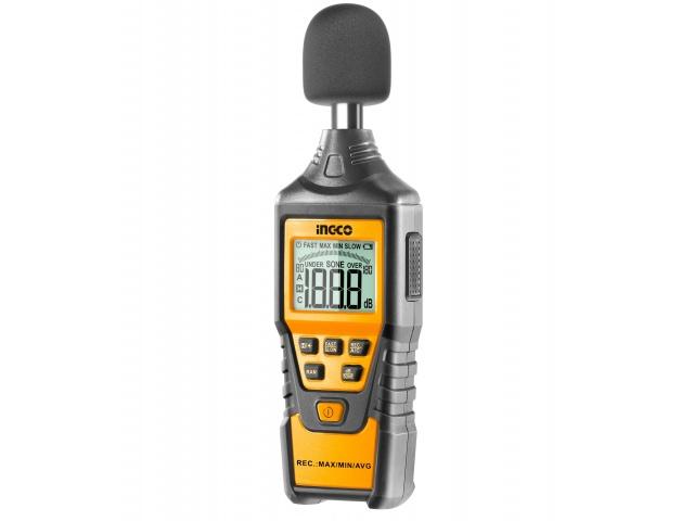 Sonometru (fonometru) digital profesional acustic pentru masurarea nivelului de sunet - INGCO HETSL01 [4]