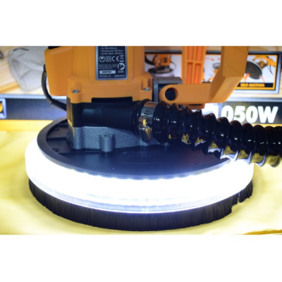 Aparat de slefuit extensibil cu lumina LED 1050W, 2300RPM, tip girafa, plafoane si rigips - INGCO DWS10501 [2]