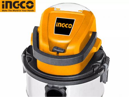 Aspirator pe acumulator, baterie 20V, 20L, uscat si umed - INGCO CVLI2005E [2]