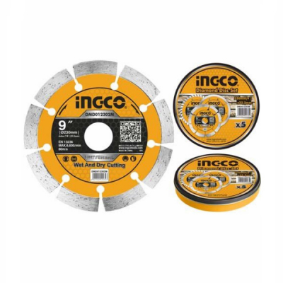 Disc diamantat intrerupt, segmentat 115mm, 125mm, 180mm, 230mm1