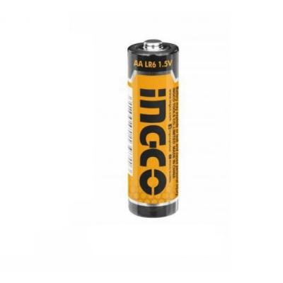 Baterii alcaline 1.5V, AA, LR6 - INGCO  HAB3A012