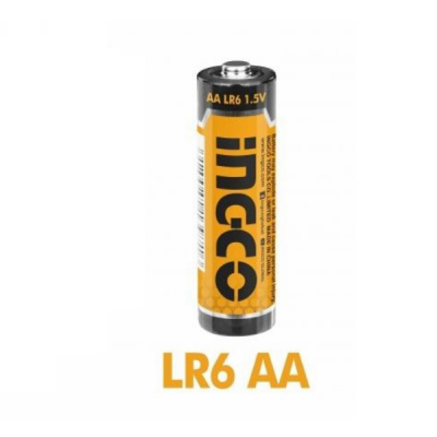 Baterii alcaline 1.5V, AA, LR6 - INGCO  HAB3A011