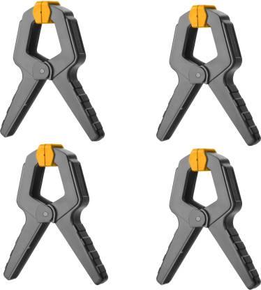 Clema cu arc pentru fixare, mini menghina - INGCO HQSC0204 [3]