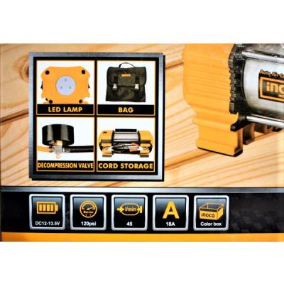 Compresor auto cu 2 cilindri, accesorii si geanta incluse3