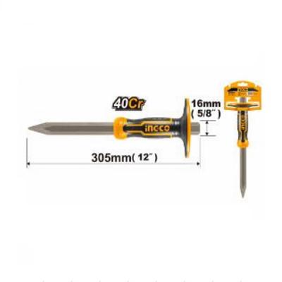 Dalta ascutita, spit, maner ergonomic protectie, 305mm, PROFI - INGCO HHC850416 [2]