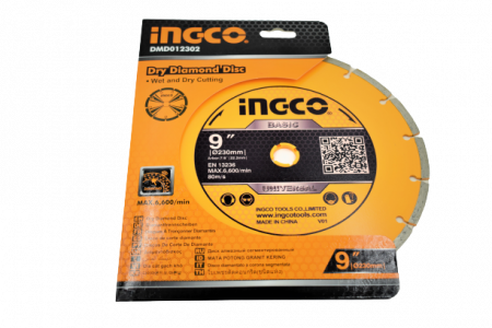 Disc diamantat intrerupt 230mm x 7,5mm - INGCO DMD012302 [3]
