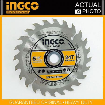 Disc, panza cu vidia, 140mm x 25.4mm, 24 dinti - INGCO TSB114041 [2]