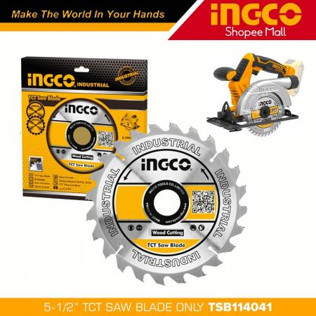 Disc, panza cu vidia, 140mm x 25.4mm, 24 dinti - INGCO TSB114041 [0]
