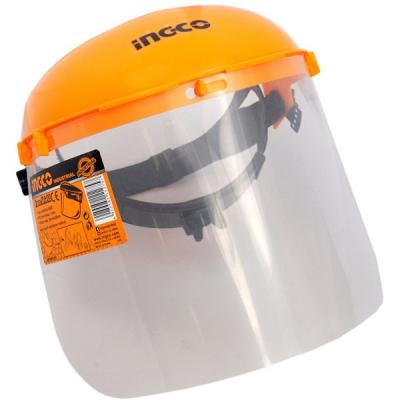 Masca de protectie ajustabila pentru frunte, cu viziera transparenta - INGCO HFSPC01 [1]